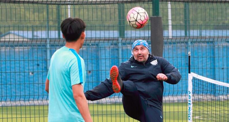 网式足球,柳州体育局踢出新花样!