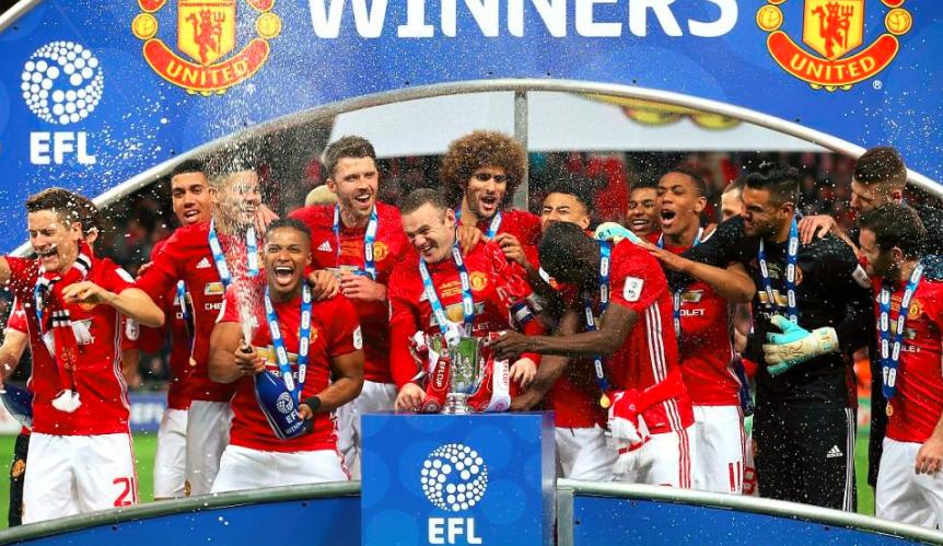 俱乐部16-17赛季财务出笼 曼联第一