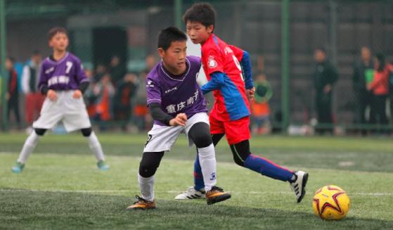 首届中国城市少儿足球联赛重庆站启幕