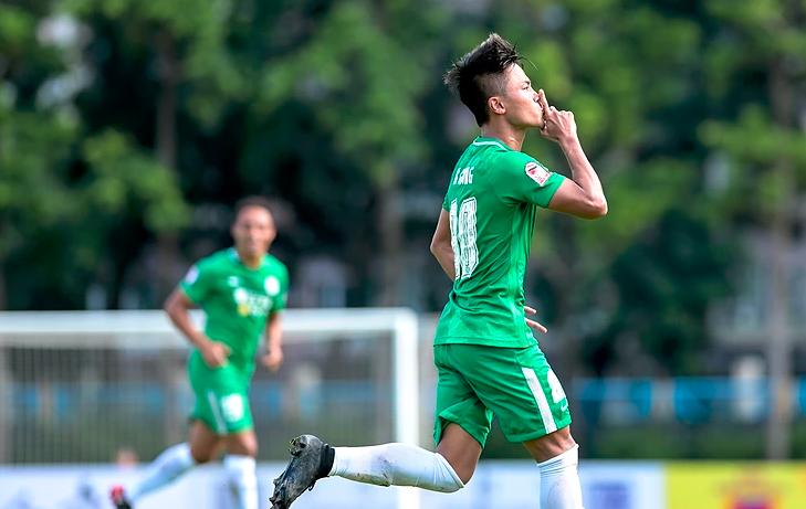 18-19香港足總高級銀牌賽 和富大埔迎戰凱景