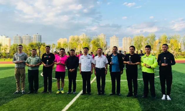 吉林公安第二届足球赛 足球传友谊 凝聚提斗志