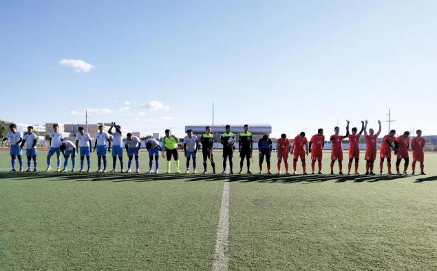 """内蒙古自治区""""公仆杯""""足球比赛拉开战幕"""