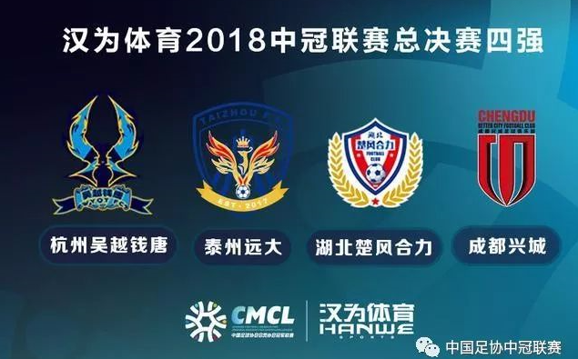 中冠联赛四强出炉 升级中乙征战2019年新赛季