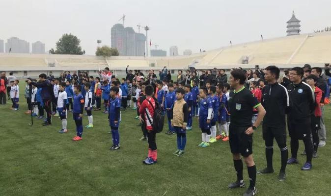 """""""我爱足球""""天津市2018年青少年足球锦标赛开幕"""