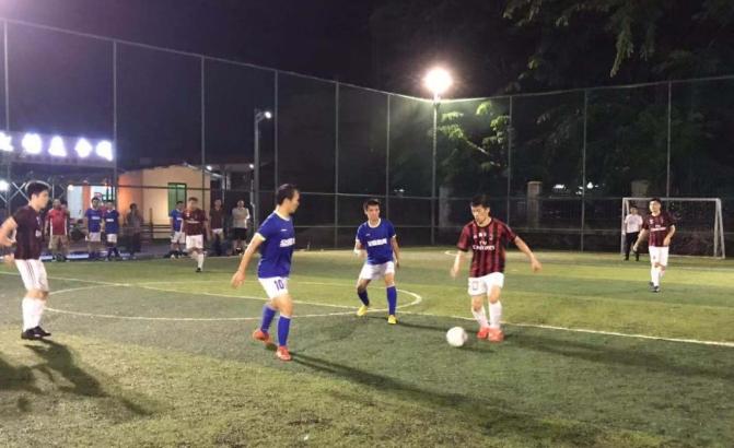 2018年度海南省澄迈县五人足球联赛胜利闭幕