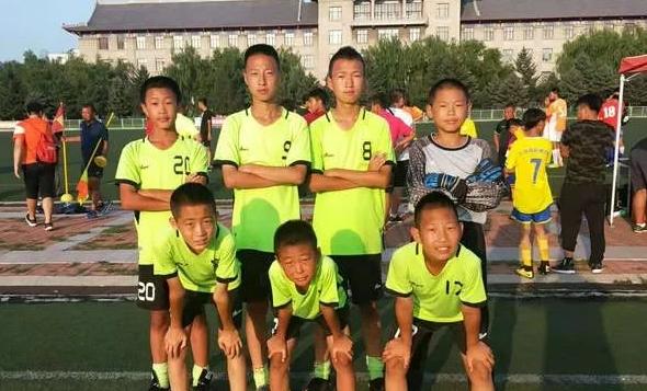 宝泉岭农场学校队员入选黑龙江FC足球队