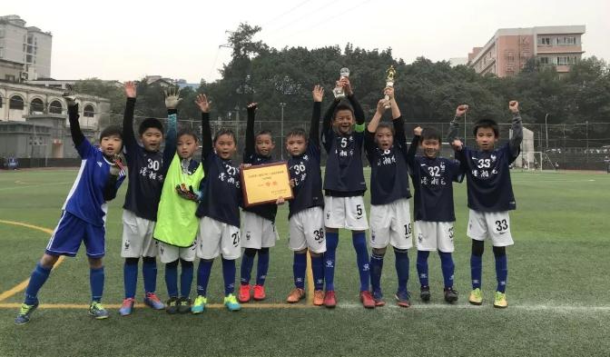 2018重庆江北区第2届青少年八人足球赛闭幕