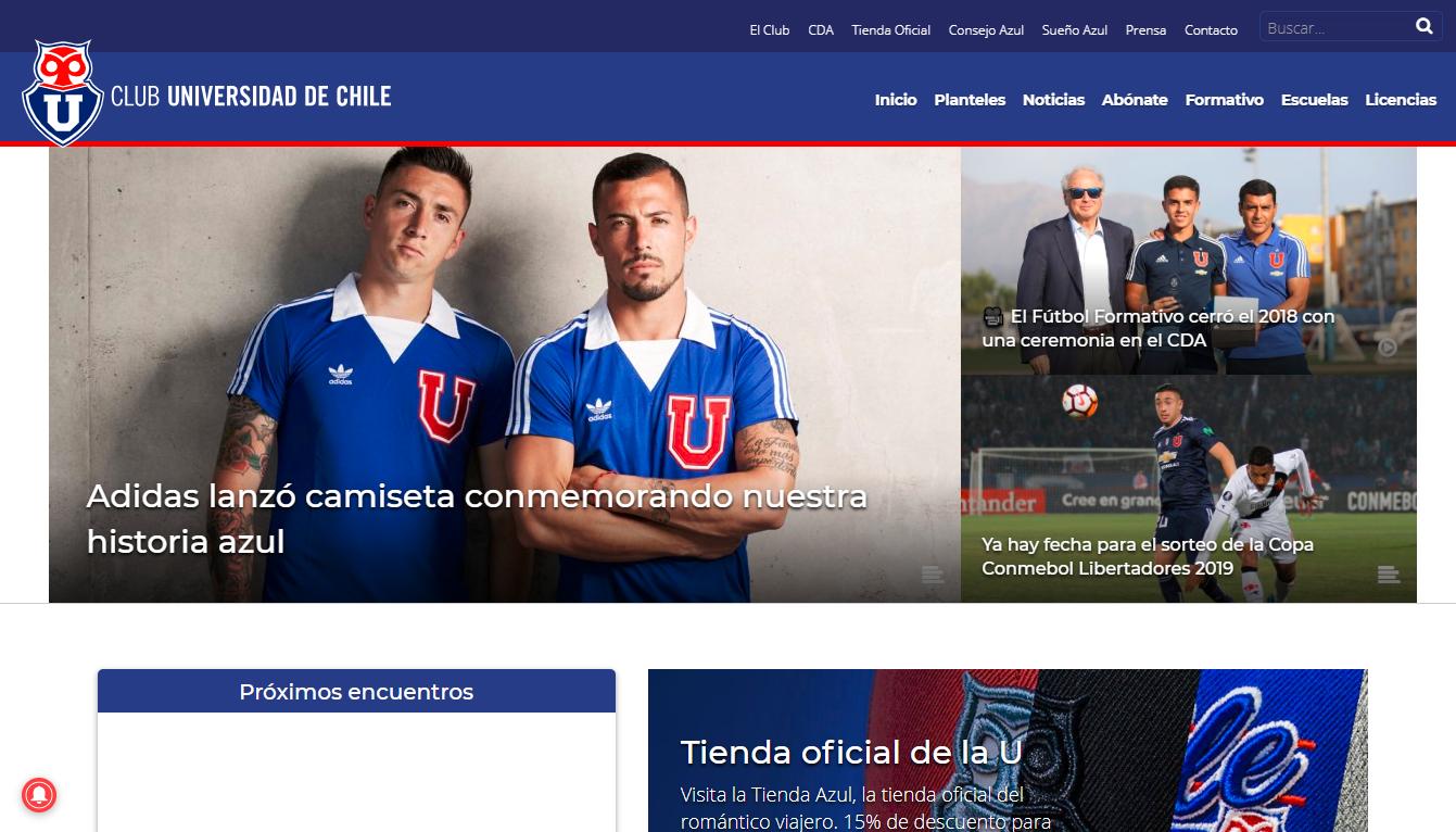 智利大学足球会发布Adidas复古款战袍