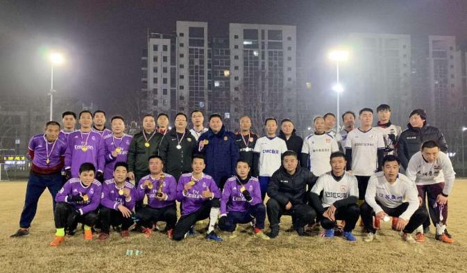 快乐足球 2019年泰州市贺岁杯足球邀请赛