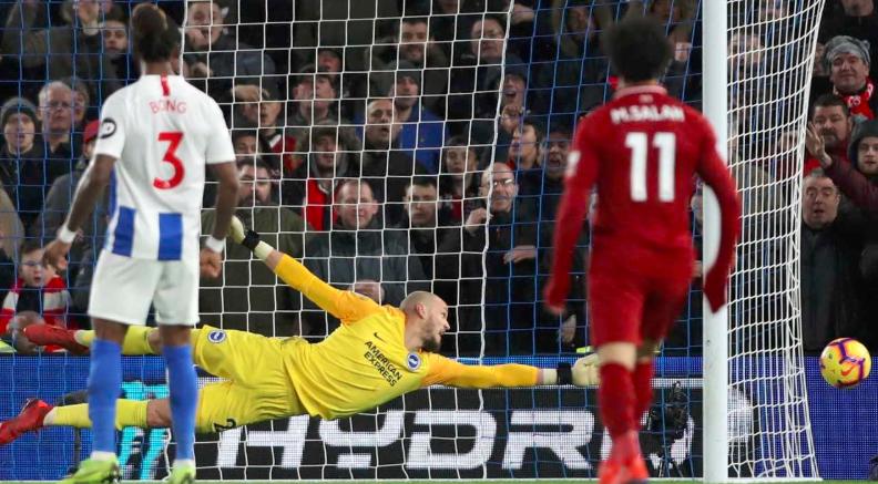 利物浦客戰運通球場 一球小勝白禮頓