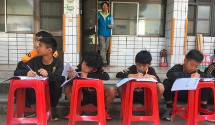 国内最特别的比赛 台湾省旭村杯足球赛