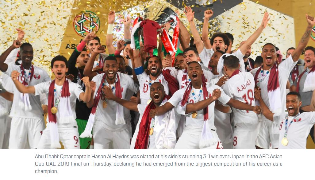 青春飓风 回顾卡塔尔击败日本首夺亚洲杯