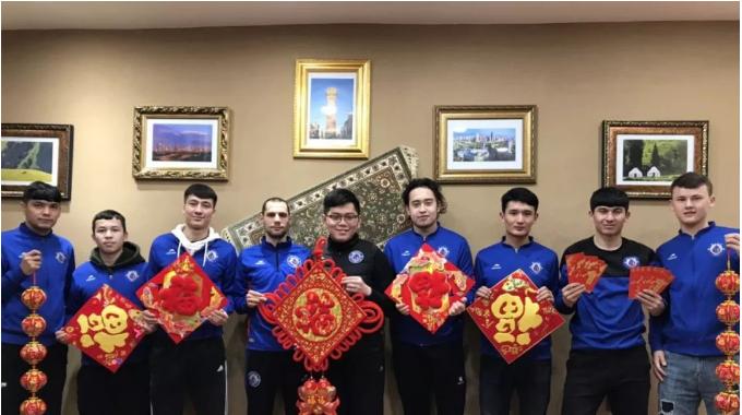 吉林百嘉足球俱乐部祝您新春快乐!