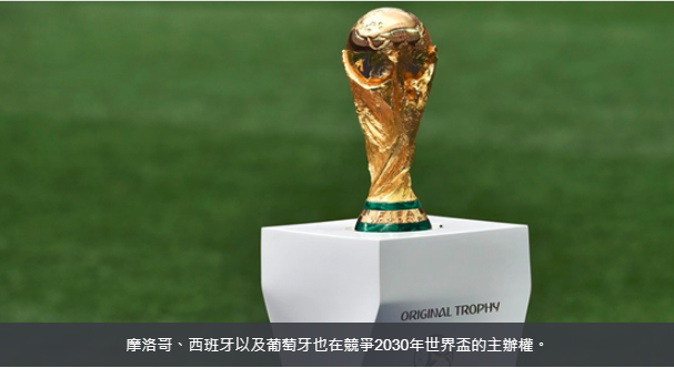 南美阿智巴乌四国 决意申办2030世界杯