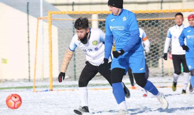 雪地足球大奖赛 内蒙古足协代表队夺冠