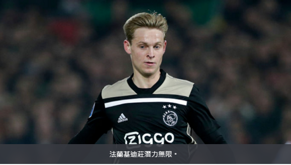 法兰基迪庄当选荷甲联赛二月份最佳球员