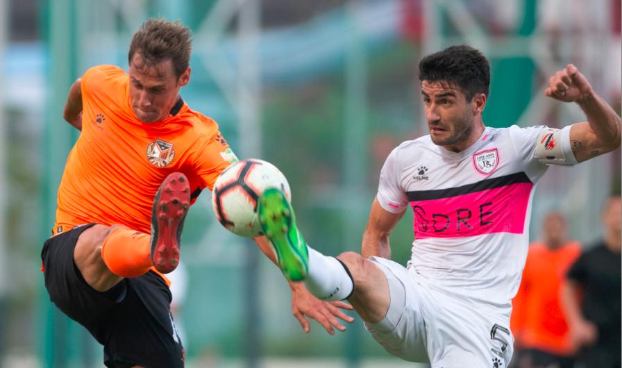 香港菁英杯A组梦想FC2比4佳联元朗