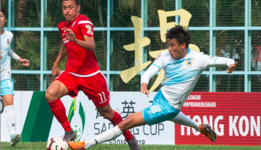 香港菁英杯B组:冠忠南区3比0凯景
