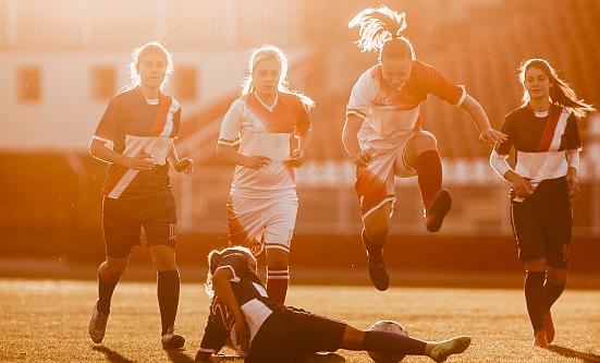 陕西女队备战中国女子五人足球联赛