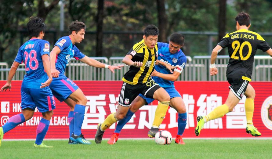 香港菁英杯B组:理文3比2险赢杰志