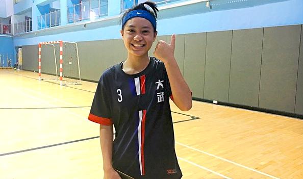 企图心、突破都很强 大武陈玮琪要学习分球