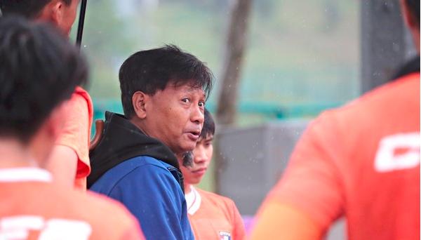 台省奥运队十号移地训练 热身越南U23