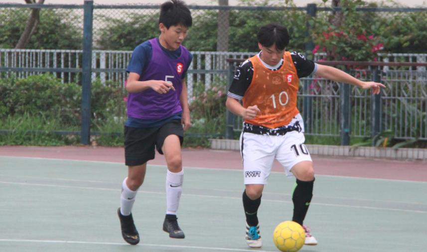 香港赛马会18-19五人足球杯新界东分站赛事