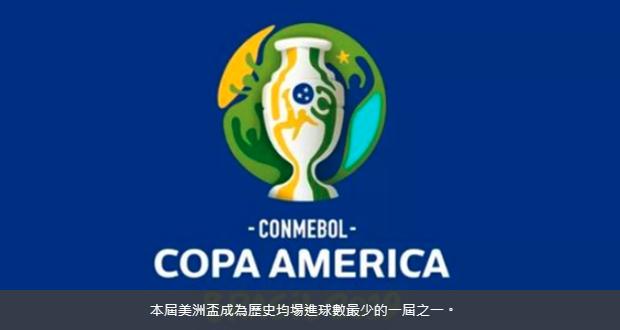 2019美洲国家杯入球数遭遇尴尬数据