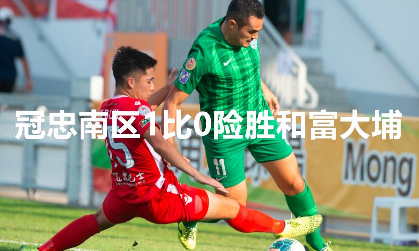 菁英杯B组 冠忠南区1比0险胜和富大埔