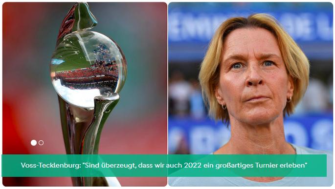2021年欧洲女子足球锦标赛将推迟一年