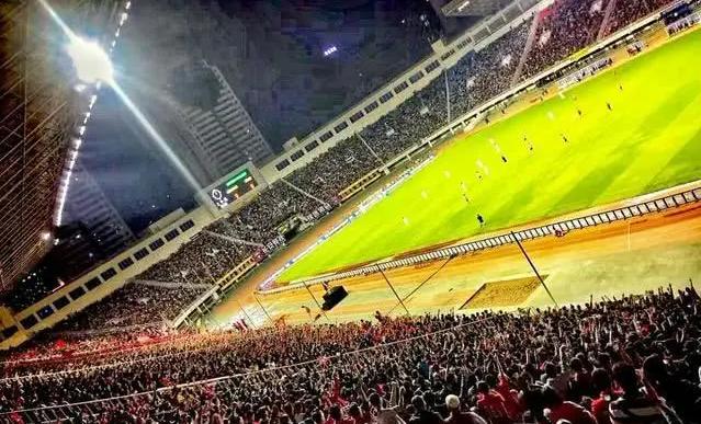 圣朱雀和沣东足球场 我看到了陕西足球