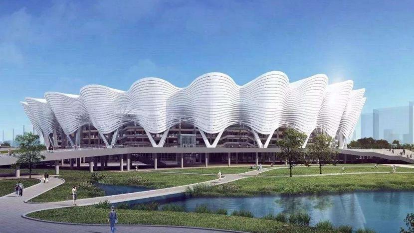 西安国际足球中心 开工进入倒计时!
