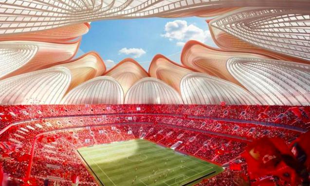 中建四局:广州恒大足球场建设费用约43亿