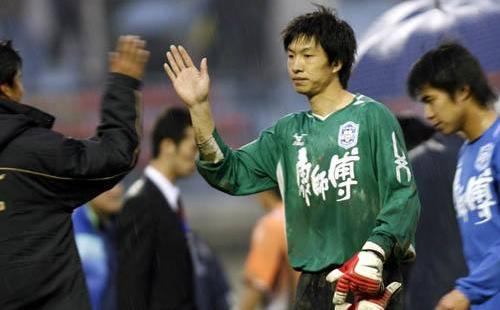 杨君 为天津足球培养出更多优秀门将