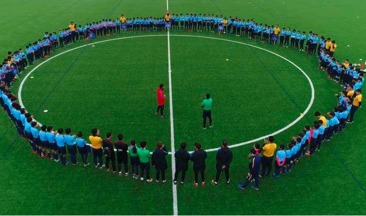 问政海南 海口少见开放的公益足球场?