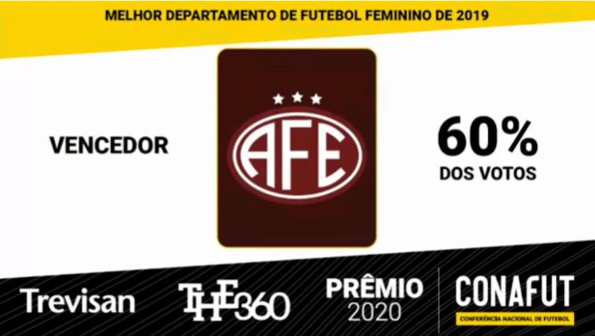 费罗维亚女队夺得巴西最佳女足大奖