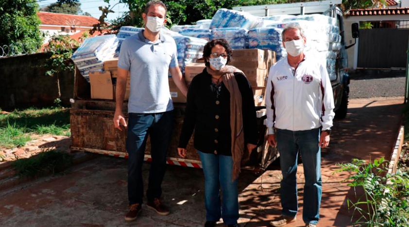 费罗维亚与赞助商共同为抗疫提供支援