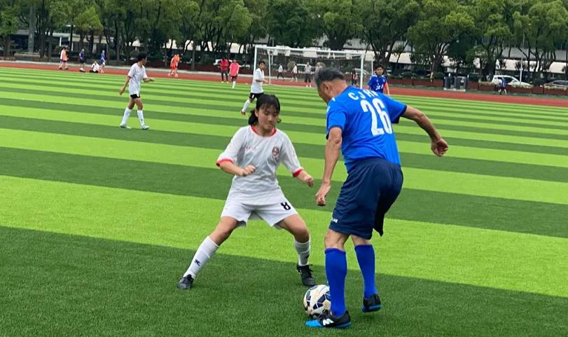 快乐足球 江西足协队VS全运会U14女队