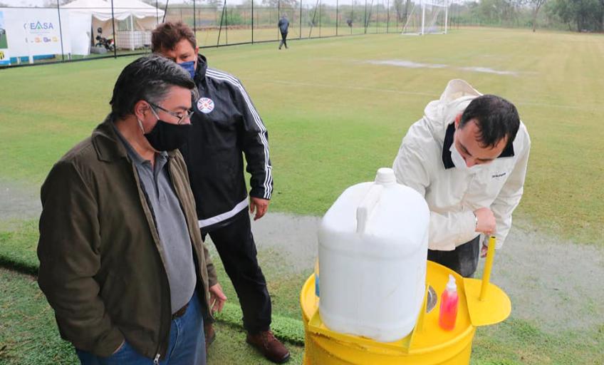 瓜兰尼复训在即 防疫设备检测通过