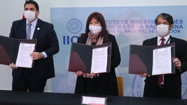 巴拉圭足协与健康科学研究所签署协议