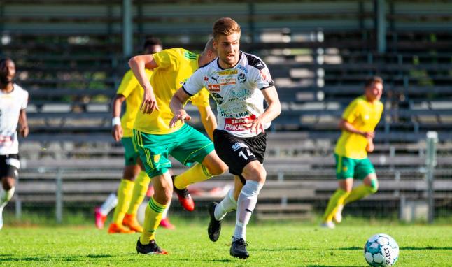 芬兰杯 夏卡客场1比0力擒强敌伊韦斯