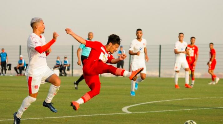 哈沙尼亚热身赛2比1小胜马拉喀什星球