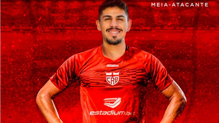 CRB雷加塔签下年轻中场安德森·塞阿拉