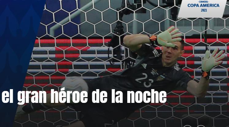 马丁内斯 阿根廷这个晚上的英雄!