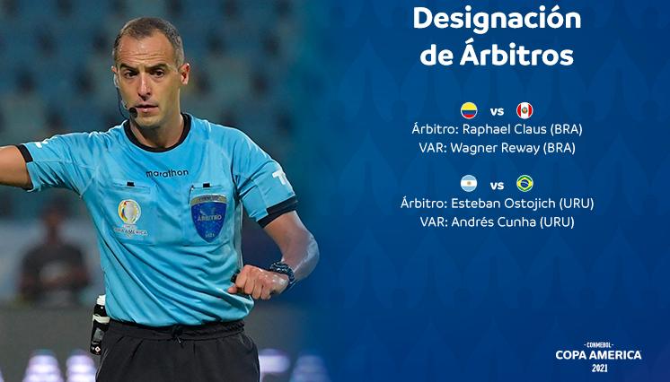 2021美洲杯巴西VS阿根廷决赛法官确定