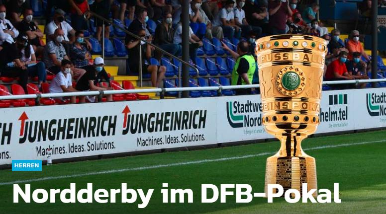 因特莱奇特DFB杯将对阵强者汉诺威96