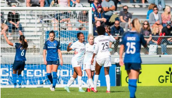 美女联赛 哥谭FC客场3比0北卡罗来纳